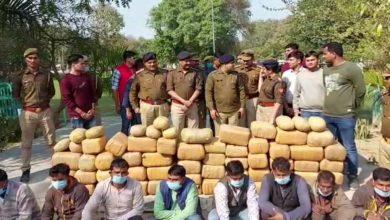 Photo of उत्तर प्रदेश जिला फिरोजाबाद वरिष्ठ पुलिस अधीक्षक अजय कुमार पांडे ने किया बड़ा खुलासा 4 कुंटल 58 किलो गांजा मादक पदार्थ ढाई करोड़ से अधिक का बरामद कर आठ अभियुक्त को किया गिरफ्तार |      ( ब्यूरो प्रमुख सन्नेश कुमार गुप्ता के साथ हैदर अली की खास रिपोर्ट )