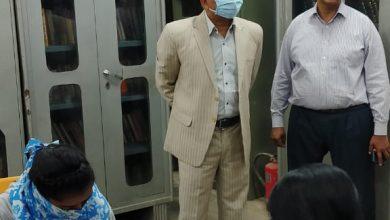 Photo of गोण्डा आयुक्त, देवीपाटन मंडल श्री एसवीएस रंगाराव ने राजकीय जिला पुस्तकालय गोंडा का निरीक्षण कर पुस्तकालय के विस्तारीकरण व अन्य व्यवस्थाओंं हेतु संबंधित अधिकारियों को दिए निर्देश।         ( निशिथ  कुमार की खास रिपोर्ट गोंडा )
